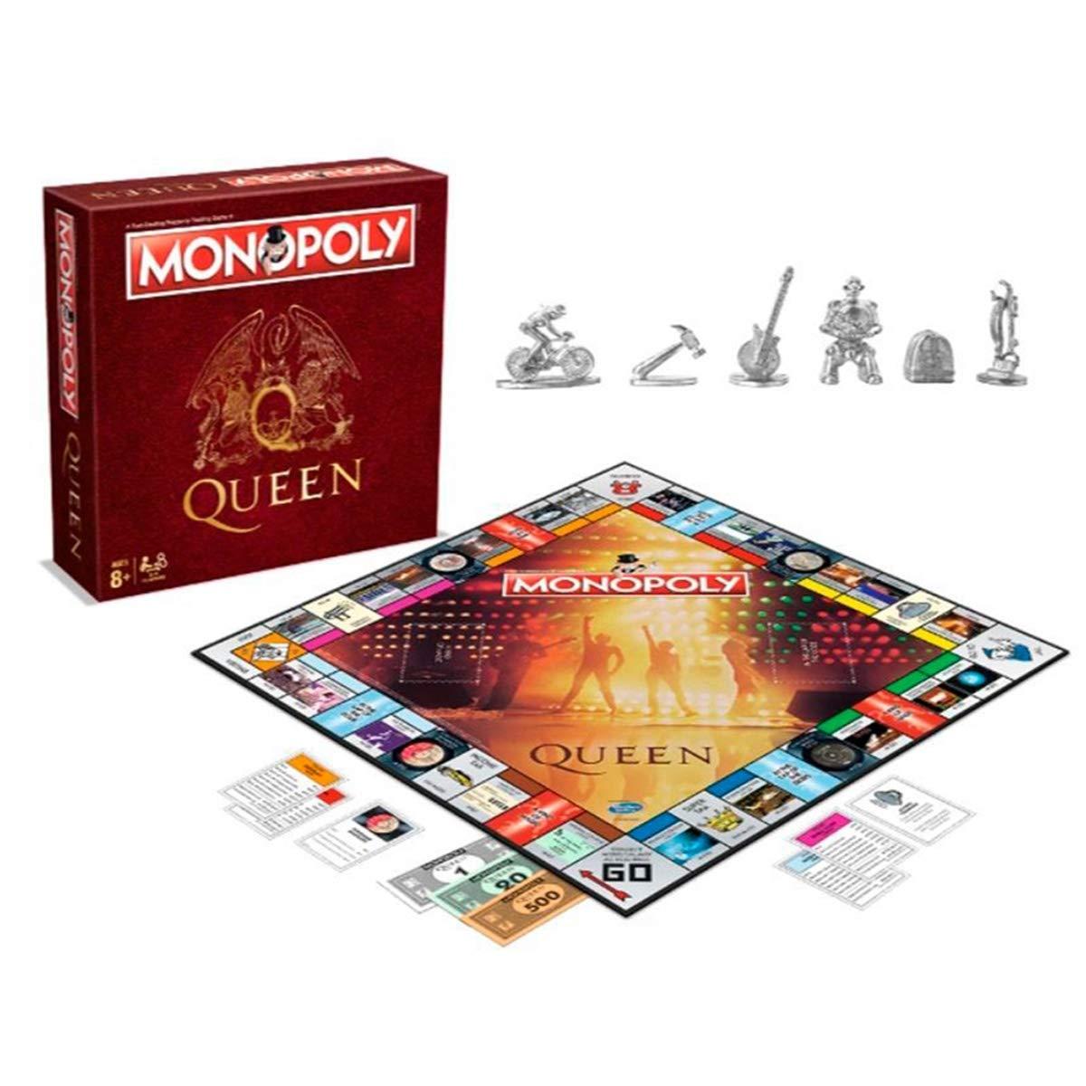 Monopoly - Oficial queen - merchandising música, Inglés: Amazon.es: Libros en idiomas extranjeros