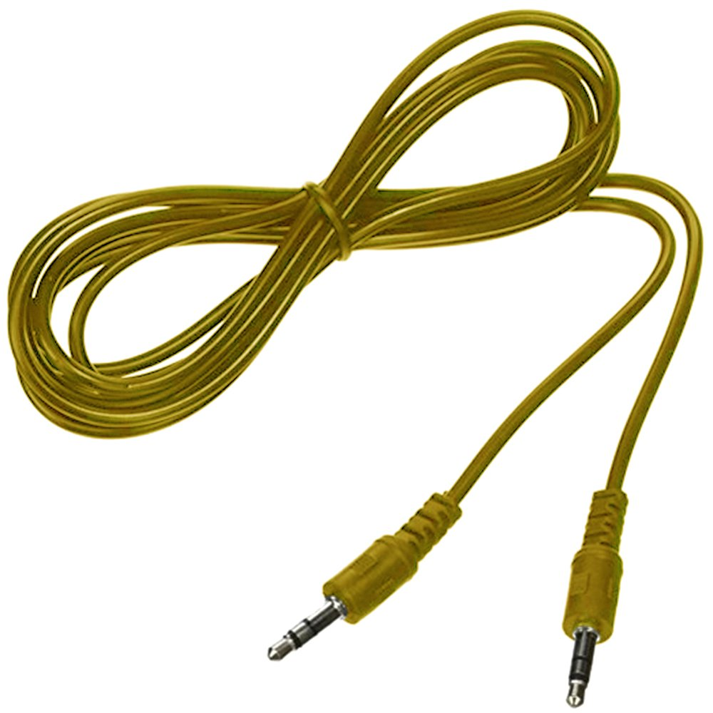 DanDan 5 Pack Aux Cable 3.5mm Audio Stereo 6 ft-Yellow
