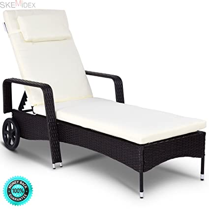 Amazon.com: skemidex – -- Exterior Chaise Lounge Silla ...