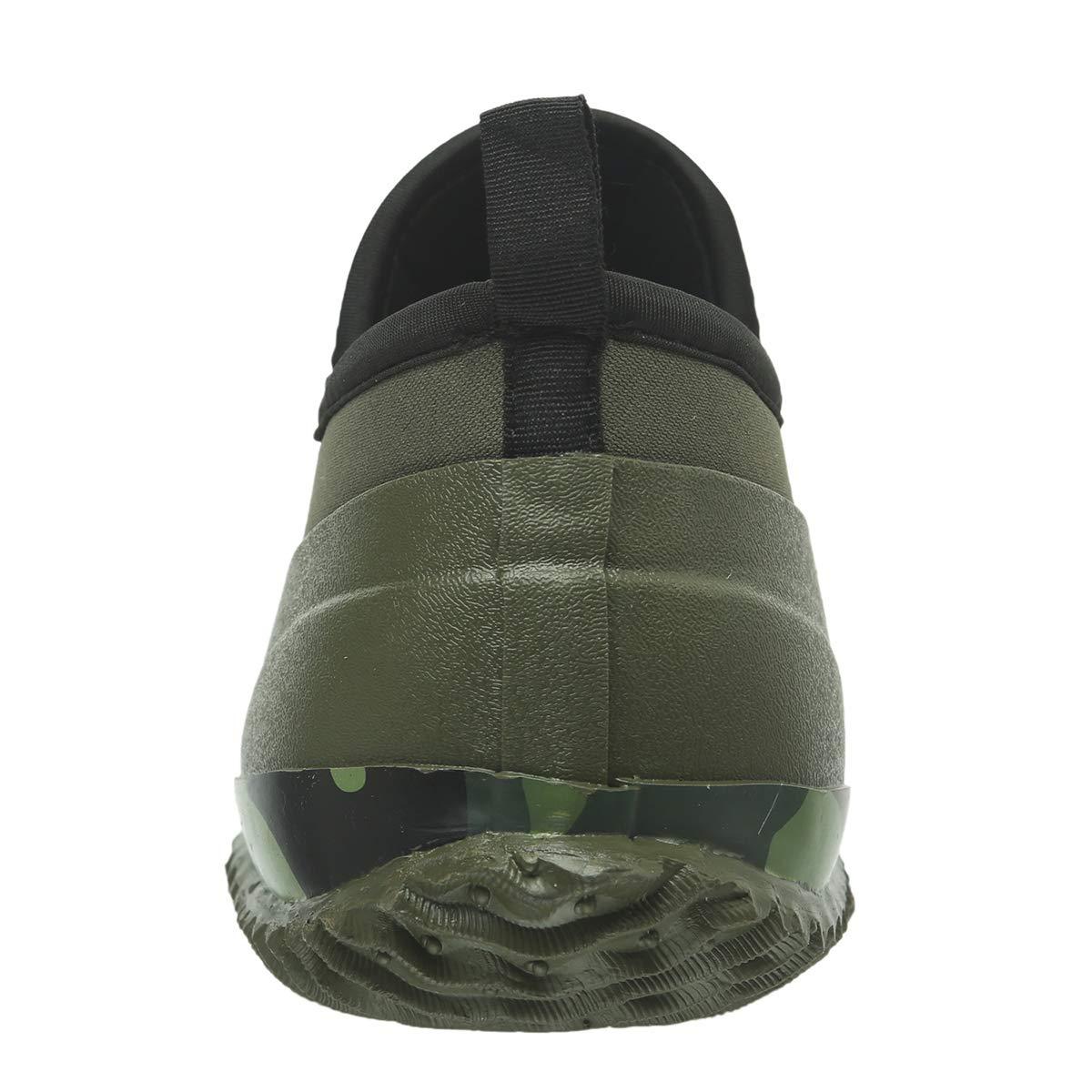 JOINFREE Botas De Lluvia para Mujer Botas Cortas Cortas Calzado para Tobillo Calzado Al Aire Libre