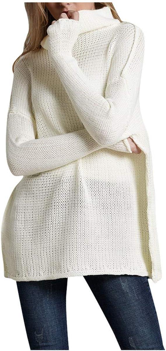 pull col roulé acrylique femme