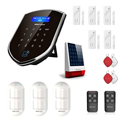 Amazon.com : Wolf Guard WM3GR-N Home Security System, 3G/GSM ...