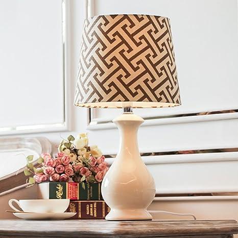 Lamps Creative Ceramic Table Lamp Living Room Decorated Desk Lamp ...
