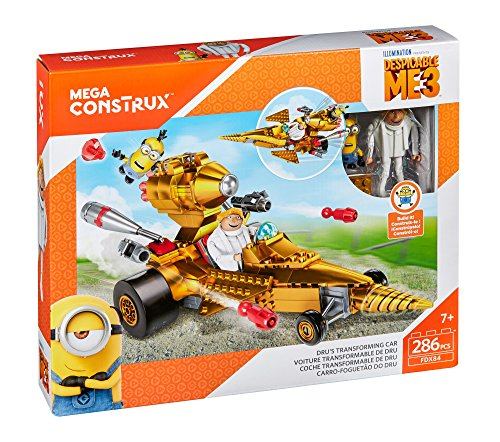 Mega Construx Despicable Me 3 Dru's Transforming Car Buildin...