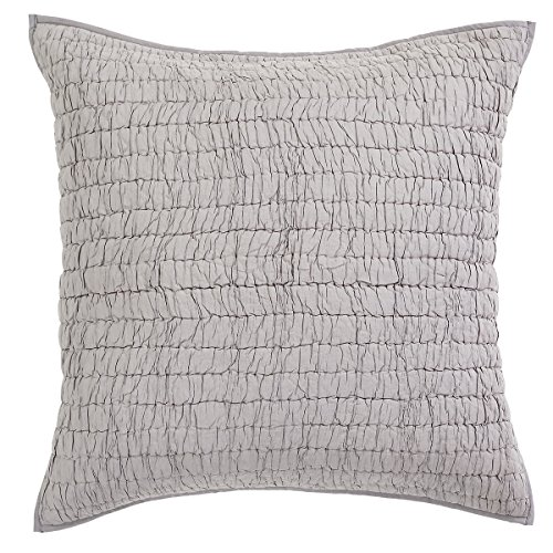 Quilted Pillow 3 Euro Shams - 2
