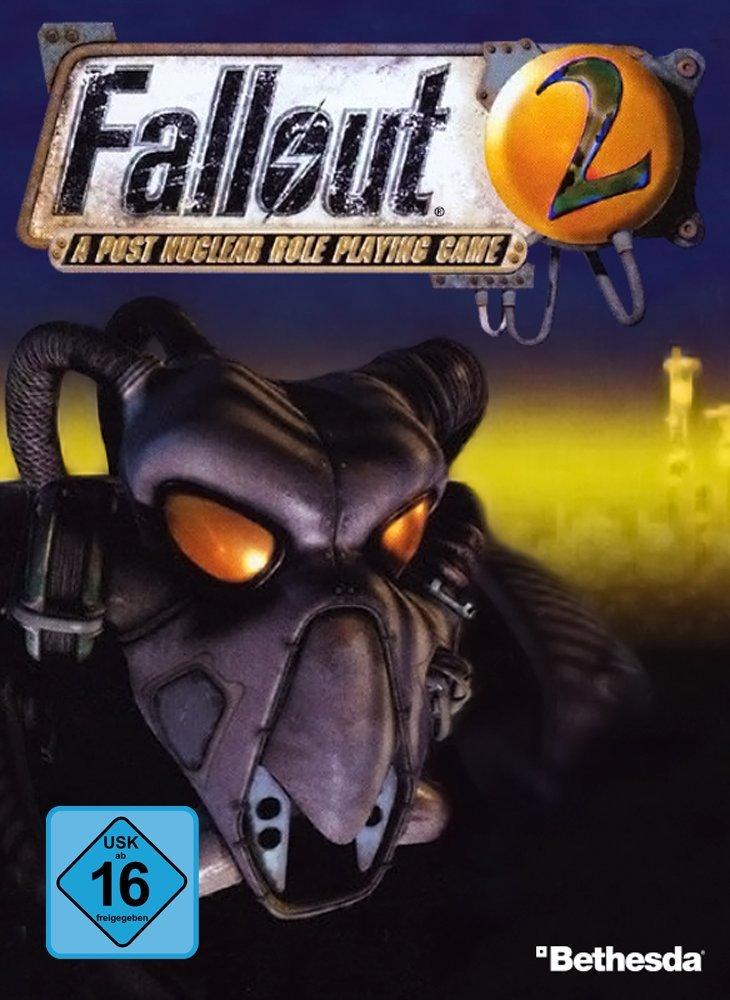 Fallout 2 Deutsche  Texte, Untertitel, Menüs, Videos, Stimmen / Sprachausgabe Cover