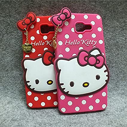 on sale c577a 3e47a Delkart Nice Kitty Cover for Samsung Galaxy J7 Max (Pink)