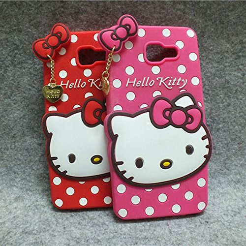 Delkart Nice Kitty Cover for Samsung Galaxy J5 Prime  Pink