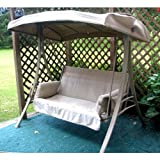 Garden Winds 2-Person Charm Swing Replacement Canopy Top Cover