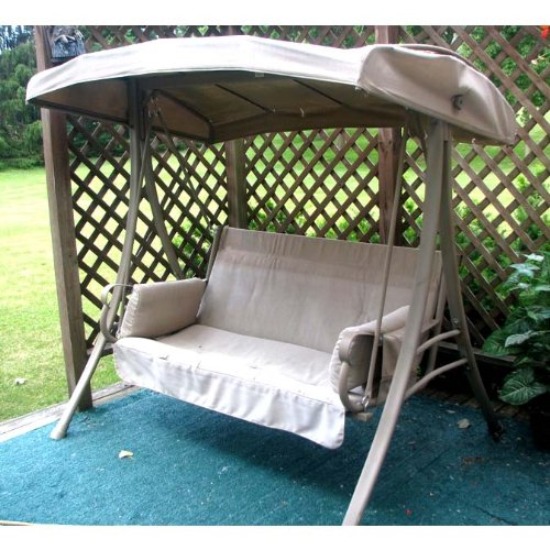 Garden Winds 2-Person Charm Swing Replacement Canopy Top Cover by Garden Winds