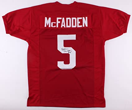 fcac80141 Image Unavailable. Image not available for. Color  Darren Mcfadden  Autographed Signed Arkansas Razorbacks Jersey ...