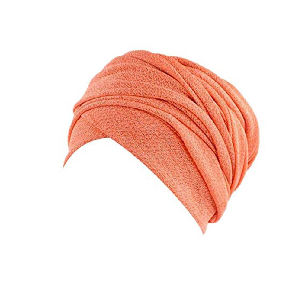 Ruimada Musulman Head Cap /Écharpe T/ête Femmes Musulman Stretch Turban Slouchy Cancer Chemo Chapeau T/ête /Écharpe Wrap Cap pour Chemo Alop/écie Perte de Cheveux