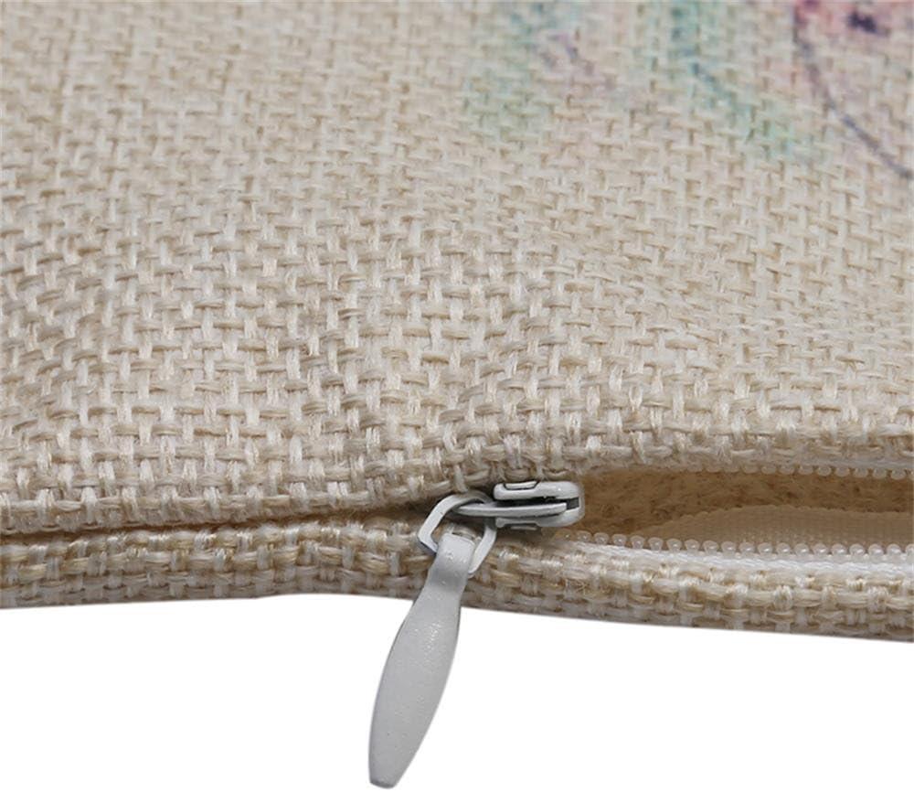 personalisierbar quadratisch Baumwolle Leinen Kissen Kissen 45/x 45/cm//45,7/x 45,7/cm a Excelsio Colorful Geometric Nordic Minimalist Kissen Fall f/ür Schlafcouch Wohnzimmer Schlafzimmer Home Decor