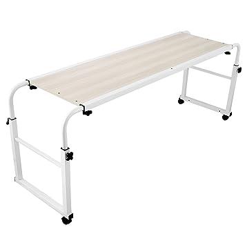 Genial Chaneau Table De Lit Sur Roulettes 1M Table Lit Ordinateur Overbed Table  Laptop Stand (1M)
