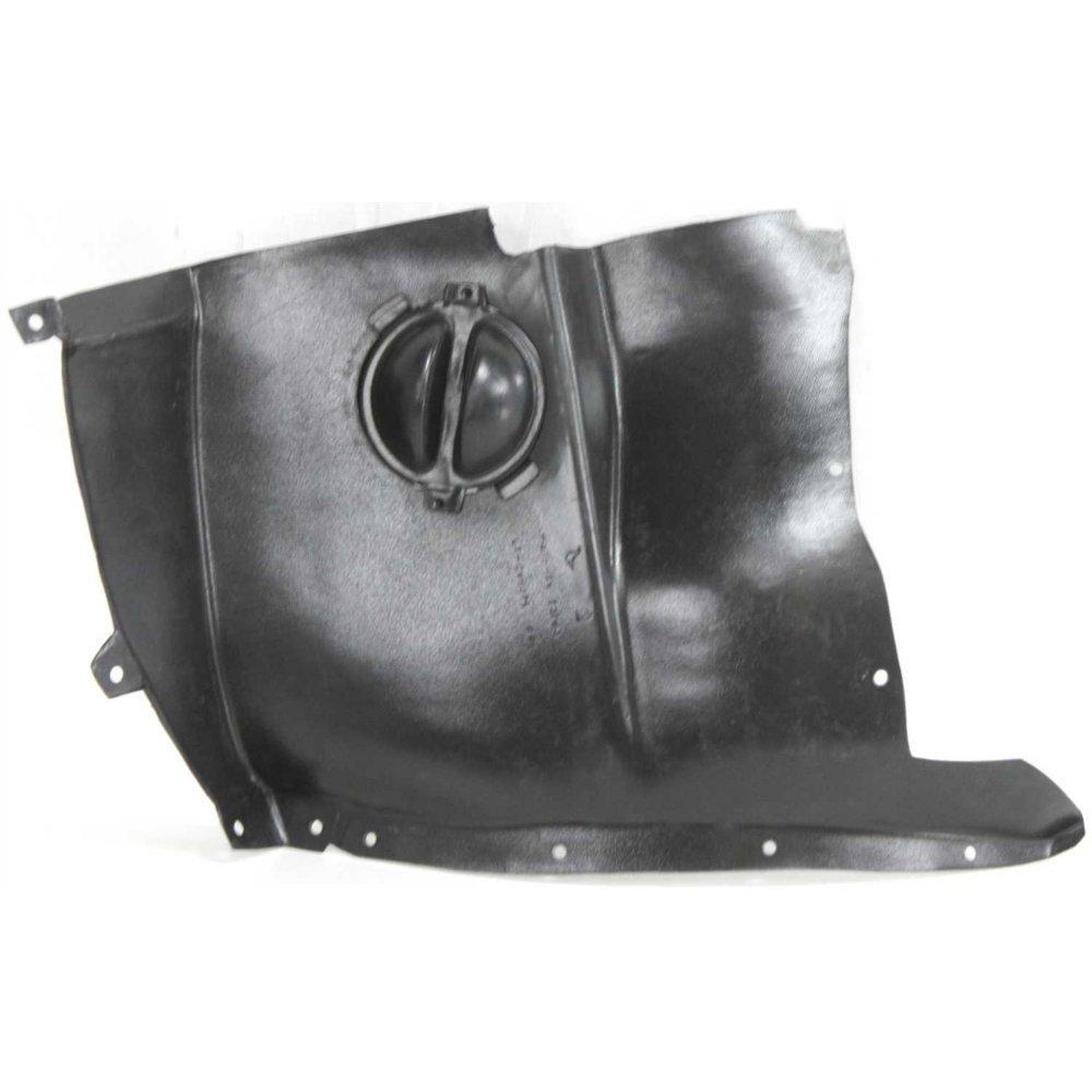 Splash Shield Front Left Side Fender Liner Plastic Front Section for Chevy Corvette 05-13 Model