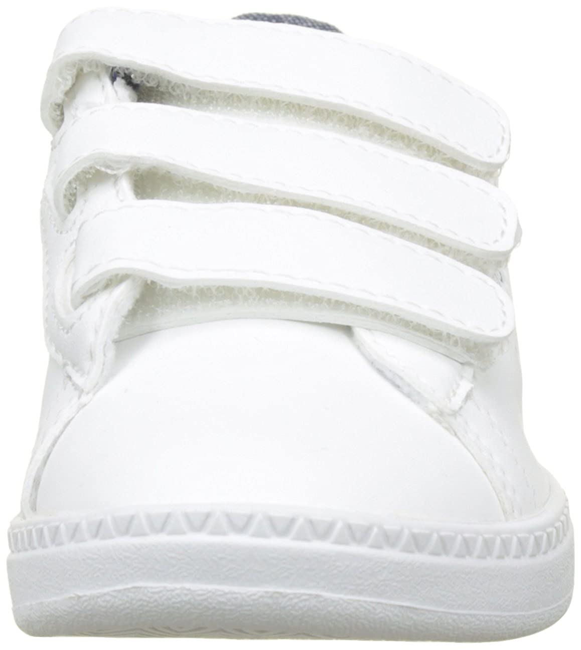1a7be202324 Le Coq Sportif Boys  Courtset Ps Craft Optical White Dress Bl Trainers   Amazon.co.uk  Shoes   Bags