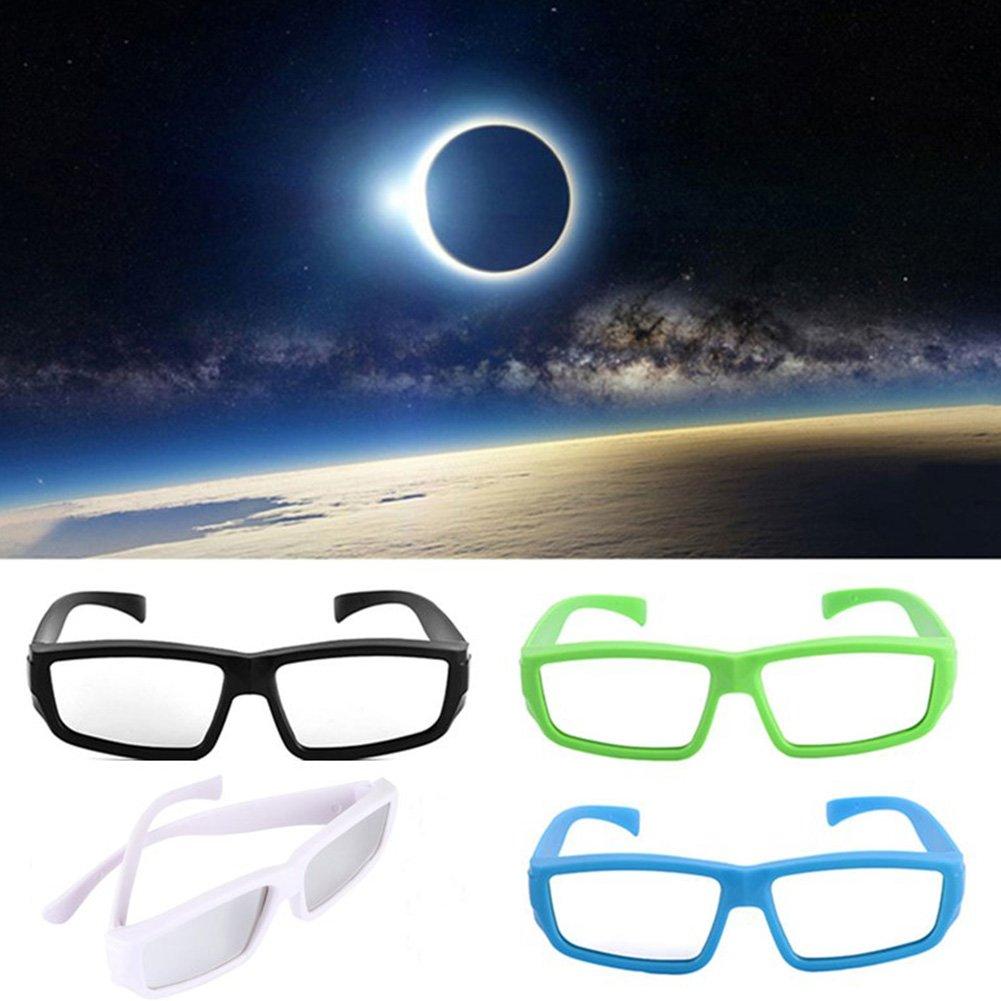 Faironly 3D anteojos de Eclipse Solar, visión Directa del Sol, protección de Ojos para niños y Adultos: Amazon.es: Hogar