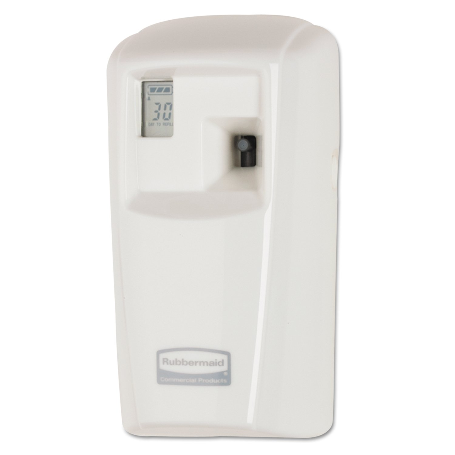 Rubbermaid Commercial Products Microburst Automated Odor-Controlling Aerosol Air Care System, MB3000 Dispenser, White by Rubbermaid Commercial Products