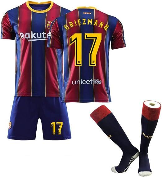 Camiseta de fútbol para niños-17# Griezmann Uniforme de ...