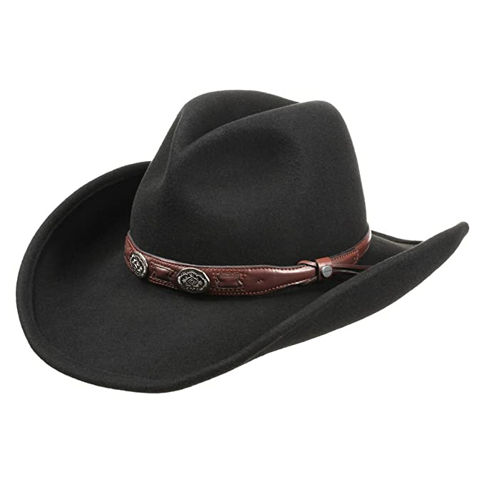 Stetson Roy Cappello da Cowboy cappello feltro di lana cappello rodeo XL  (60 8ea873d44e7b