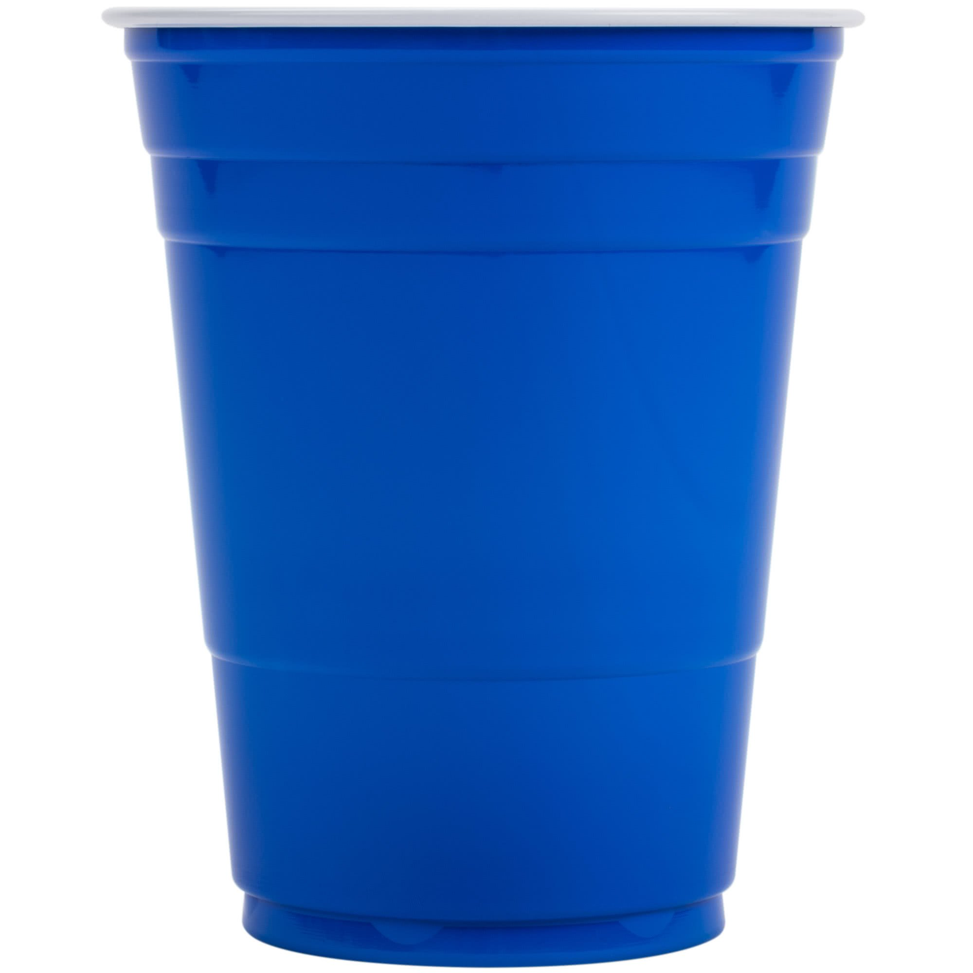TableTop King P16B 16 oz. Blue Plastic Cup - 1000/Case by TableTop King