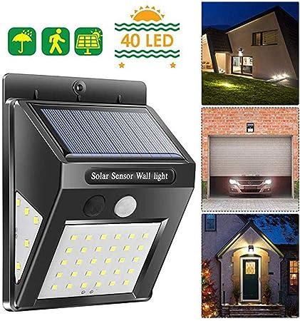 Lampe de sécurité solaire 30 LED avec detecteur de mouvement etanche IP65