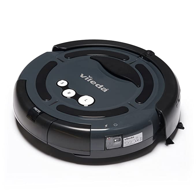 Vileda de limpieza del robot aspirador robótico (UK Version) - Gris ...
