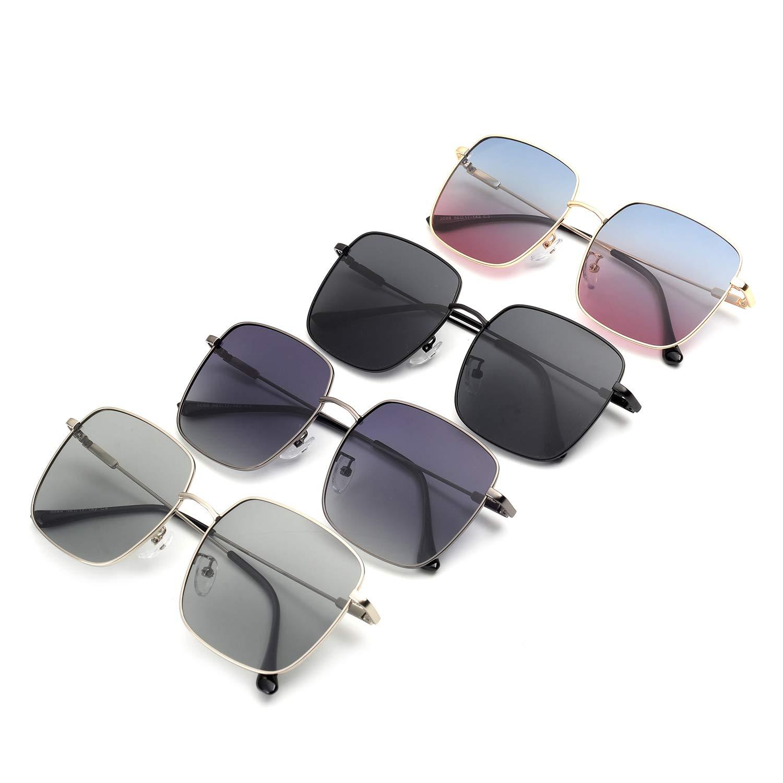 5f8ad1e329 rezi Gafas de Sol Mujer Polarizadas Marco Metal Lente de nylon 100%  protección UVA/UV ...