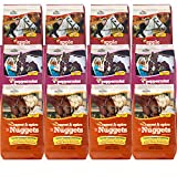 Manna Pro Horse Treat Stable Variety Pack, (12) 1 Pound Bags of Assorted Flavors