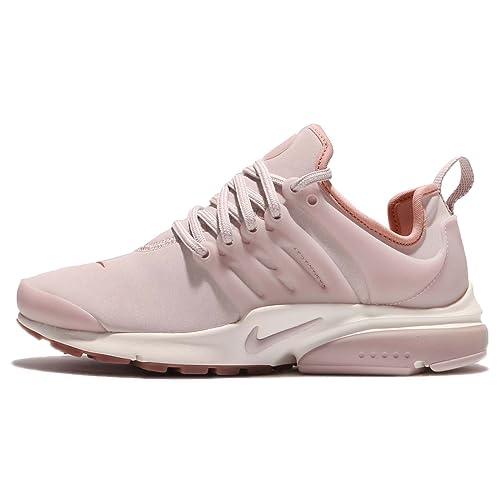 6d155c5dd37b Nike Womens AIR Presto Premium SILT RED Pink Stardust Gum Sole 878071 601
