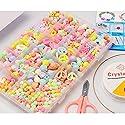 アクリルビーズ - 子供ビーズアクセサリーおもちゃ、男の子、女の子、子供、誕生日プレゼント ( Color : A )