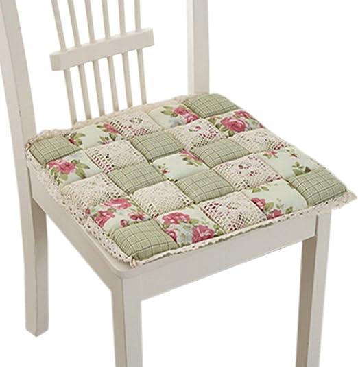 Amazon Com Kylin Express Perfect Soft Home Office Chair Cushion Tatami Seat Saddle Warm Chair Pad Cyan Home Kitchen