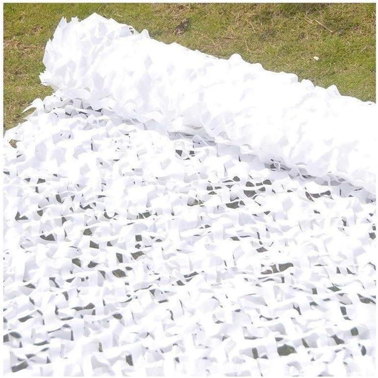 Toldos Terraza 4x3m Sombra Solar Malla Sombra Solar Ocultacion Malla De Camuflaje Camping Cacer/ía De Caza Militares 2x3m 3x3m 4x5m 6x6m Size : 2 * 3m ZZBWZW Red De Sombra De Jard/ín Blanca