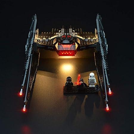 USB Lighting Kit For Star Wars 75179 Tie-Fighter only led lighting kit