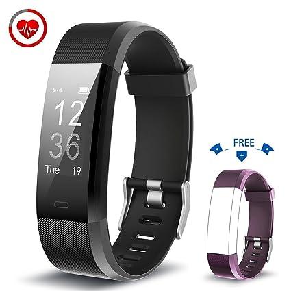 Vigorun Montre Connectée YG3 Plus Bracelet Connecté Cardiofréquencemètre Fitness Tracker dActivité Multi-Sport
