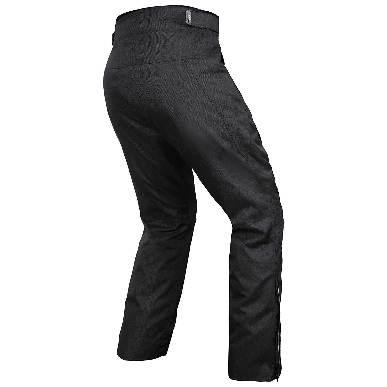 1 year Guarantee Waist38-40 Inseam30 HWK Mens Black Textile Breathable Waterproof CE Armoured Motorbike Overpants Motorcycle Trousers//Pants