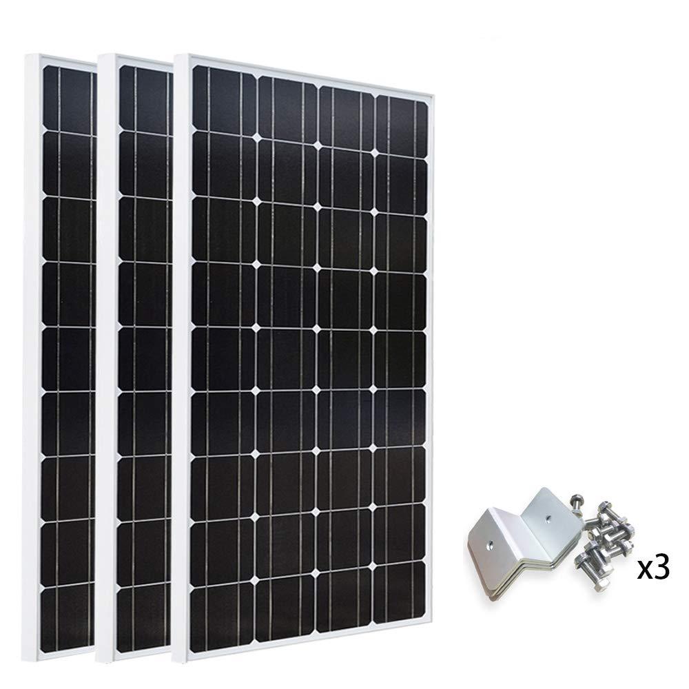 【大特価!!】 XINPUGUANG 3 船舶 30A*100W ソーラーパネル 300W 単結晶 (300W+30APWM) 太陽光チャージ 太陽光発電 ソーラー充電器 30A PWM 液晶表示画面チャージコントローラー 船舶 車 アウトドア ご家庭など (300W+30APWM) B07CPPBVWT 300W+Z字型ブラケット 300W+Z字型ブラケット, I-TOP:5f9a36cc --- a0267596.xsph.ru