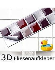Adesivi per piastrelle casa e cucina for Mosaico adesivo 3d