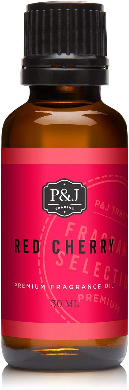 P&J Trading Red Cherry Fragrance Oil - Premium Grade Scented Oil - 30ml