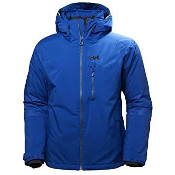 Helly Hansen Double Diamond Jacket Chaqueta De Esquí Impermeable Rell, Hombre, Azul (Charcol), S: Amazon.es: Deportes y aire libre