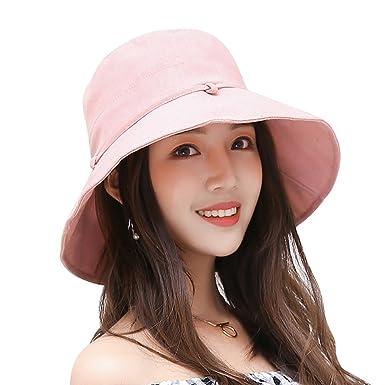948466773699f3 Amazon | アンミダ(ANMIDA)ハット 軽量 つば広 帽子 女性用 ハット 日焼け帽子 UVカット UV 日よけ 折りたたみ 女優帽  レディース 春 夏 | ハット 通販
