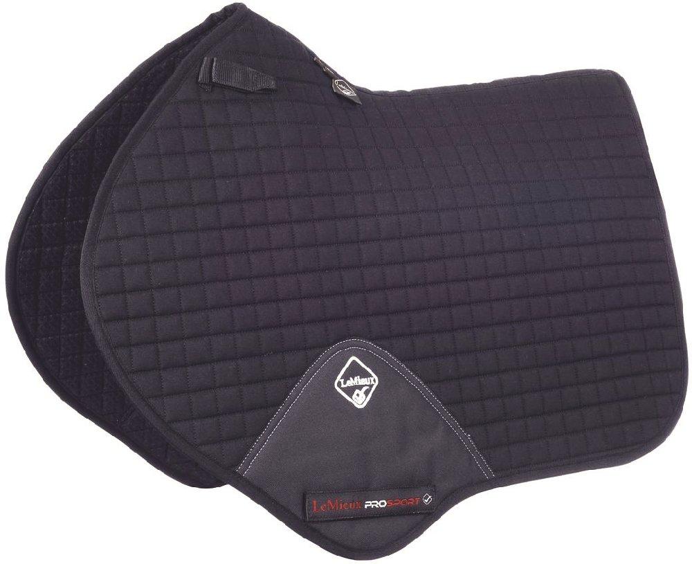 Le Mieux Pro Sport Close Contact Saddle Pad Large Black