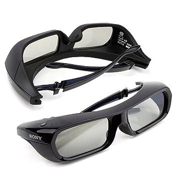 sony 3d glasses. 2 pieces sony rechargeable 3d glasses active shutter black tdg-br250 original new 3d d