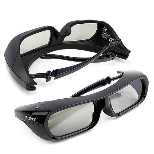 Sony TDG-BR250 Active Shutter 3D Glasses for Bravia HDTV, Black (2XTDG-BR250) - Pack of 2