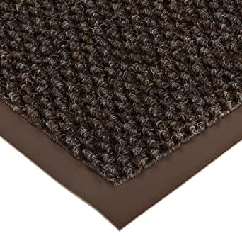 "NoTrax AX-AY-ABHI-19843Notrax 136 Polynib Entrance Mat, for Lobbies and Indoor Entranceways, 2' Width x 3' Length x 1/4"" Thickness, Brown"