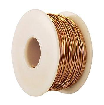 Bare Copper Round  Wire 99.9/% Pure Solid Copper 5 To 100 Ft. Dead Soft 12 Ga