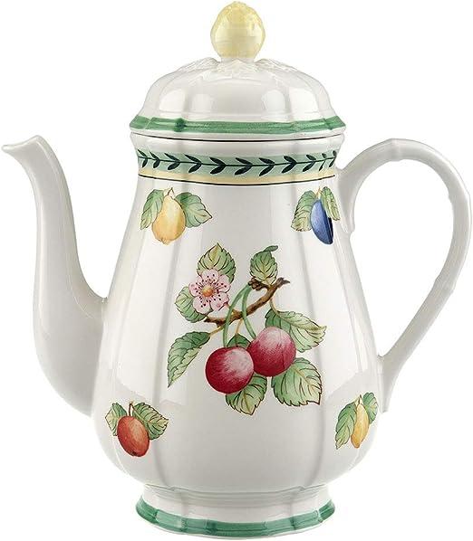 Villeroy /& Boch French Garden Fleurence Azucarero Porcelana Premium Blanco//Colorido