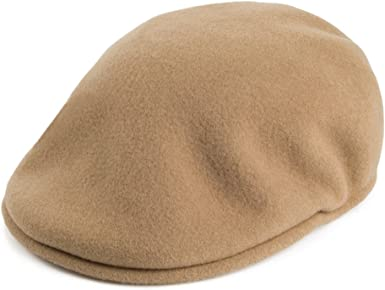 Gorra plana de lana Kangol 504 - Camel: Amazon.es: Ropa y accesorios