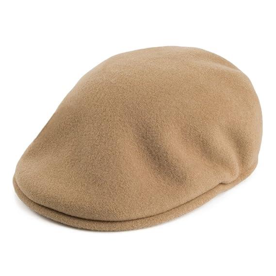 ac8873562 Kangol 504 Wool Flat Cap - Camel