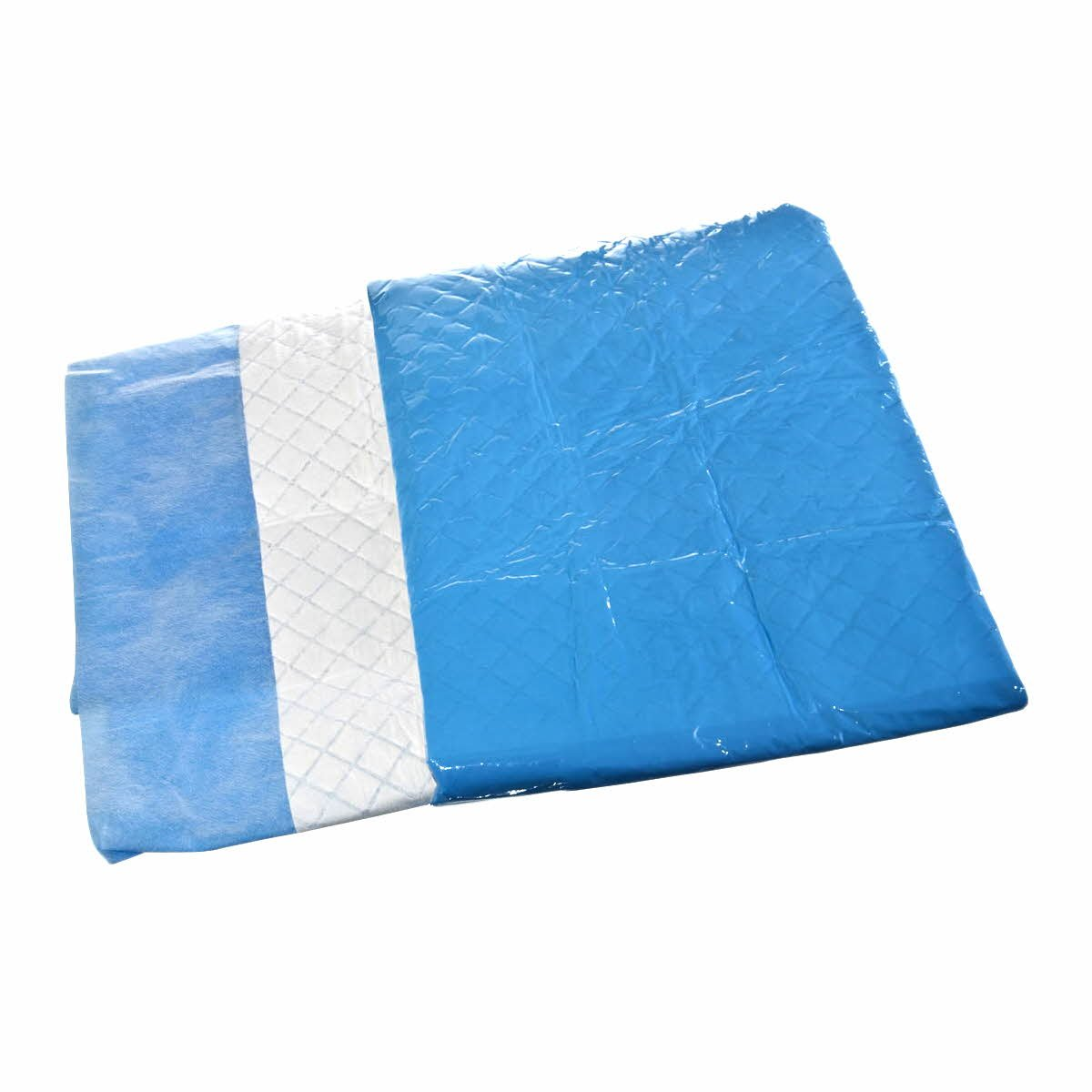 Medline DYND4030SB Absorbent Surgical Table Cover Sheets, 40'' x 30'', Blue/White (Pack of 40)